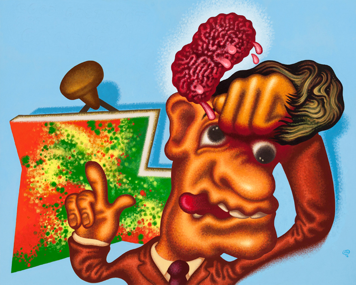 Peter Saul at Michael Werner Gallery