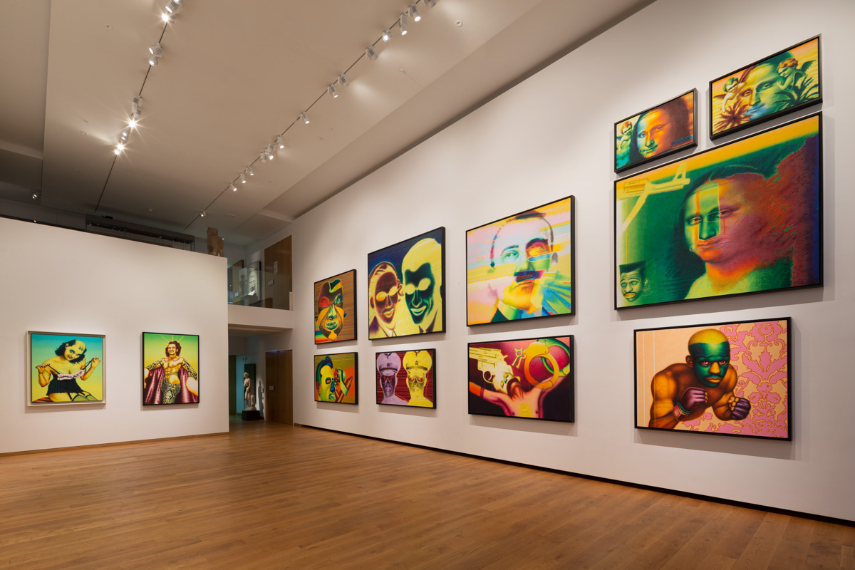 Ed Paschke at the Ashmolean Museum