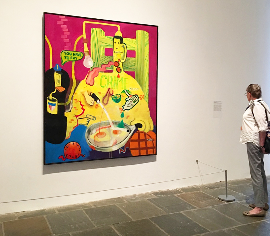Peter Saul at the Met Breuer