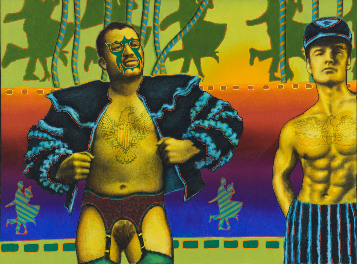 Ed Paschke at the Museum of Contemporary Art