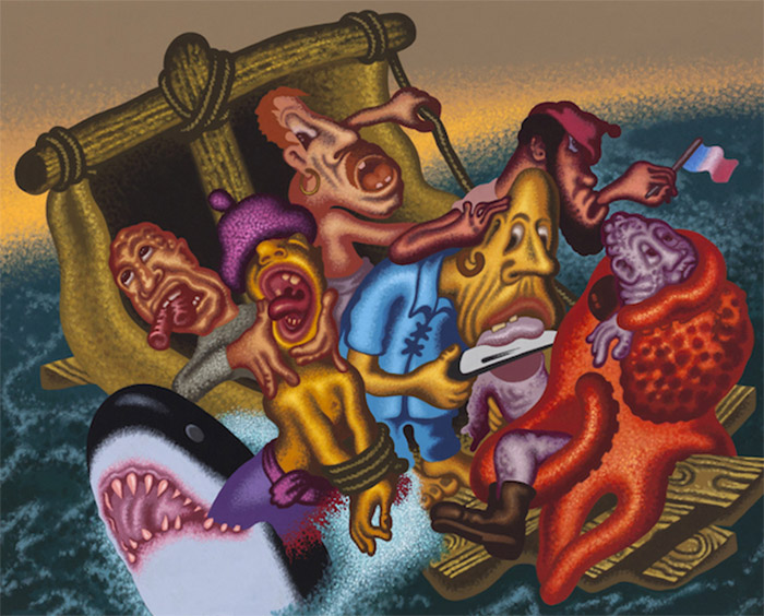 Peter Saul in Hyperallergic.com