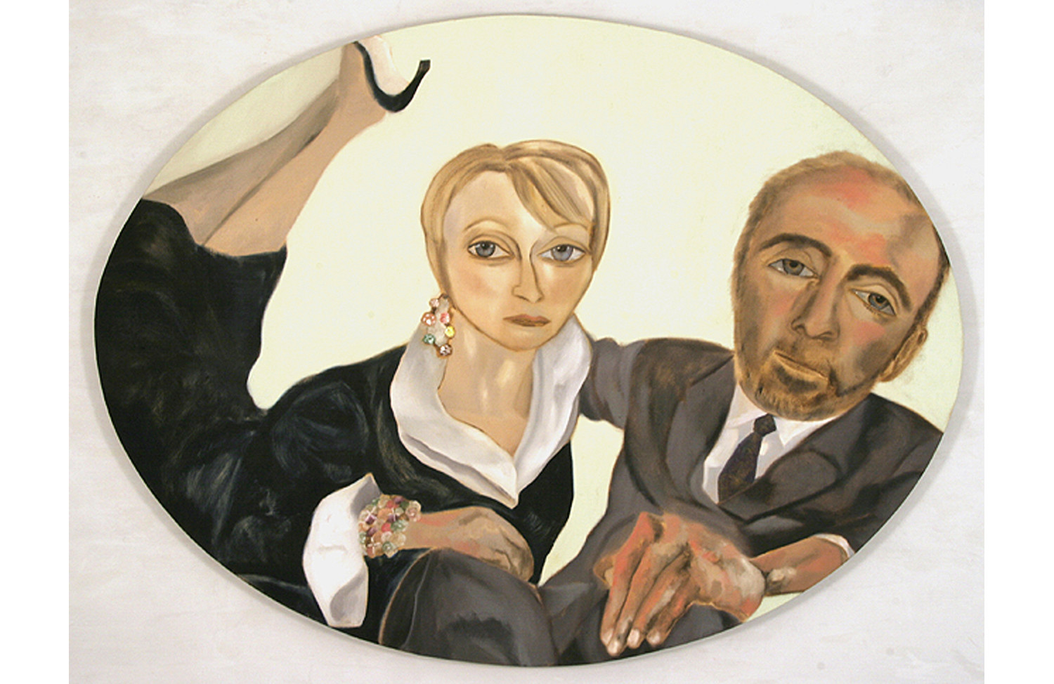 Portrait of Ray Learsy and Melva Bucksbaum