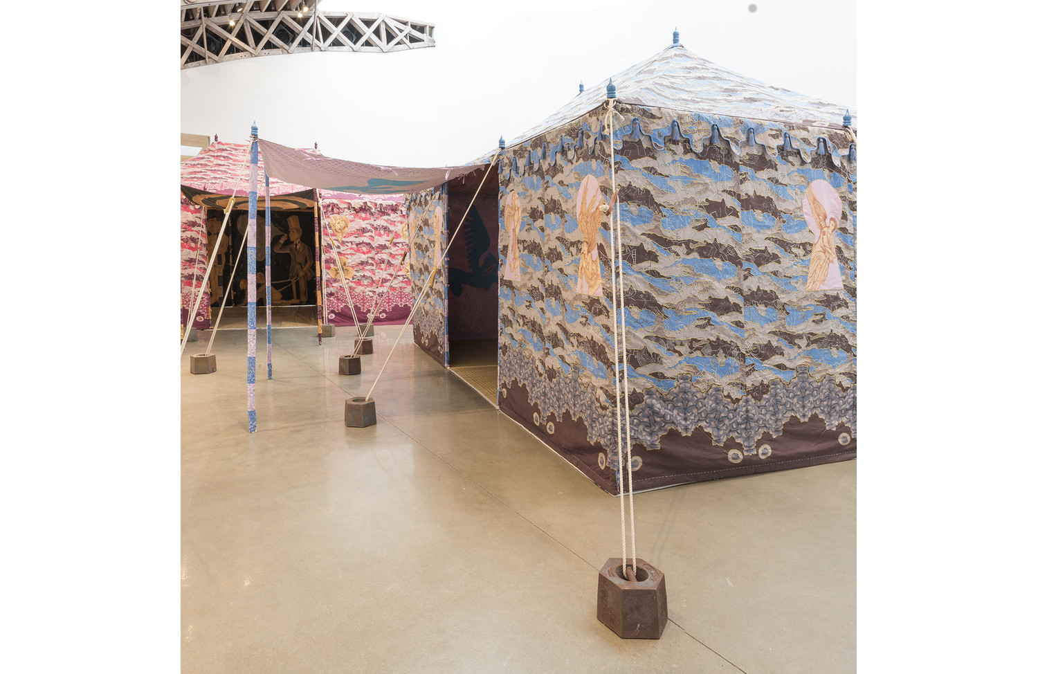 Francesco Clemente Devil's Tent - View 1