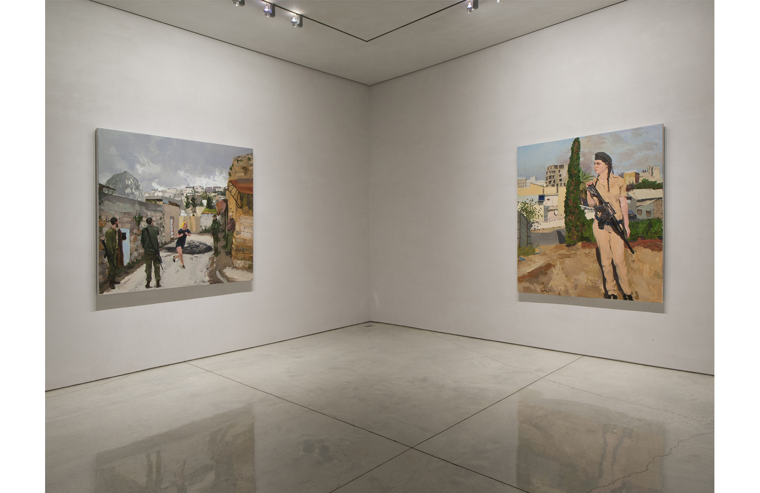 Liu Xiaodong In Between Israel and Palestine 11 - View 2