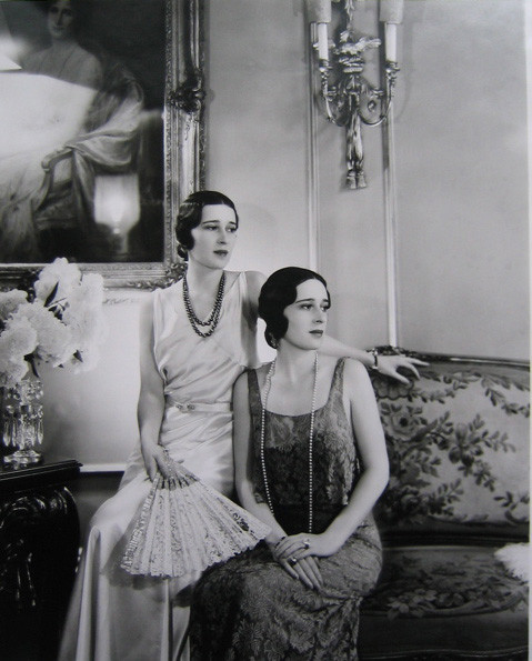 The Morgan Twins (Mother and Aunt of Gloria Vanderbilt)