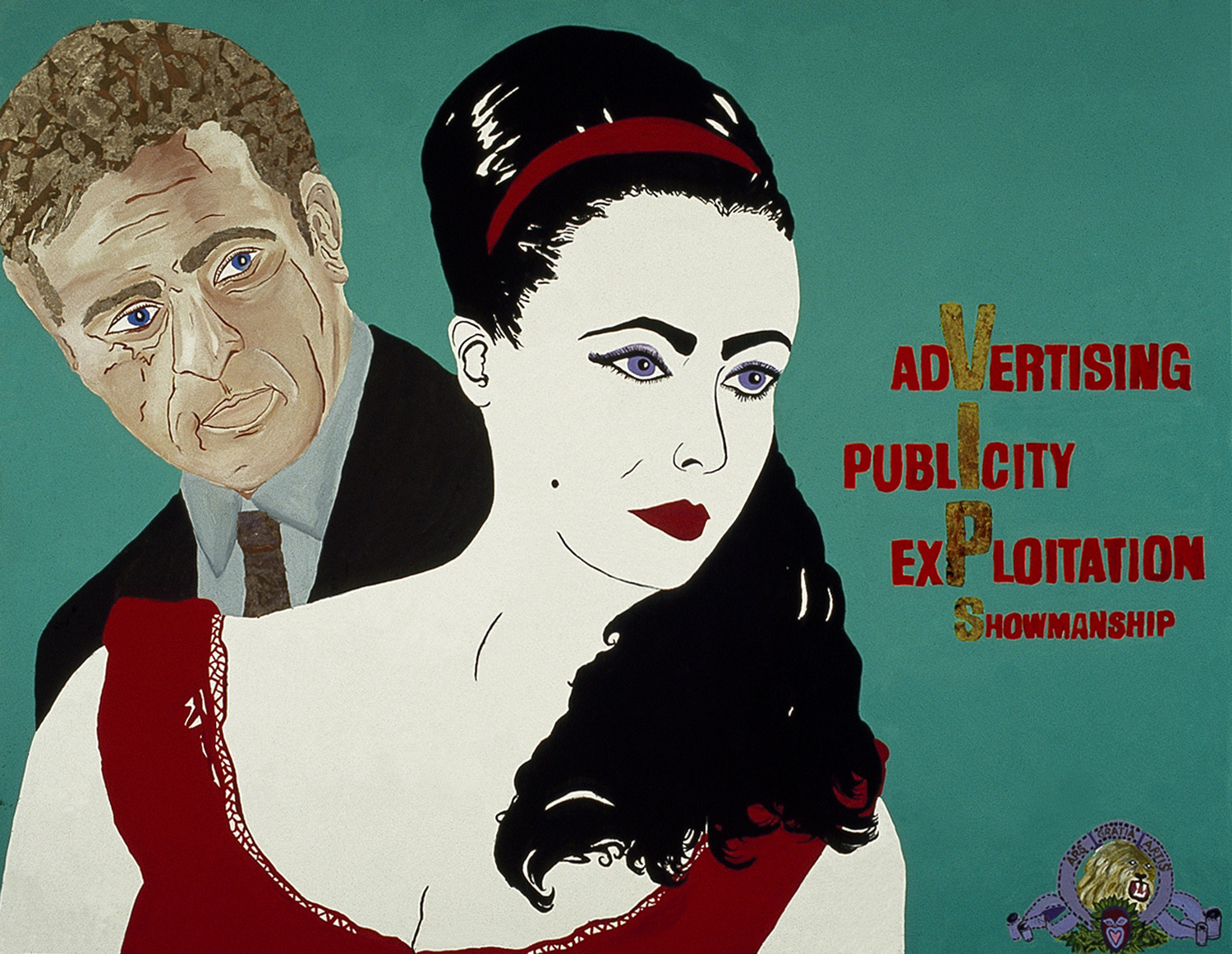 The Artworld: Advertising, Publicity, Exploitation, Showmanship: from the Liz Taylor Series (The VIPs)