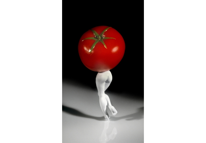 Laurie Simmons Walking Tomato