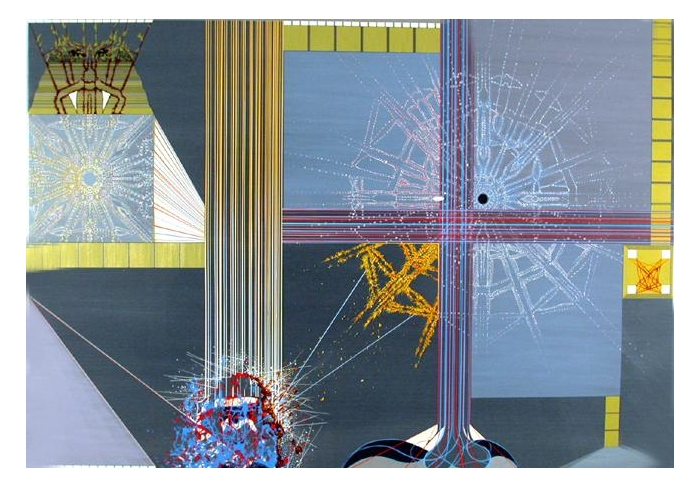 David Salle The Royal Family