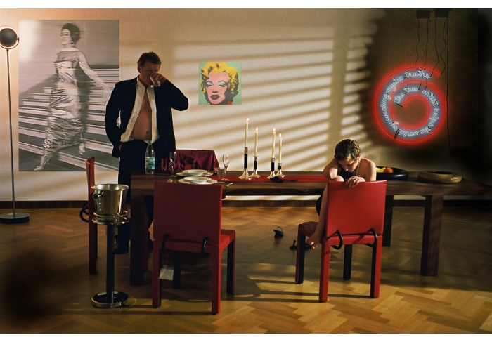Eric Fischl Krefeld Project, Dining Room, Scene #2