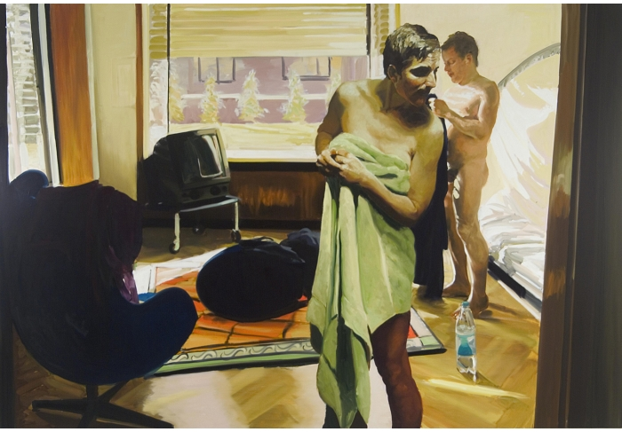 Eric Fischl Bedroom Scene #4 (You Leave Your Lover to Answer the Phone)
