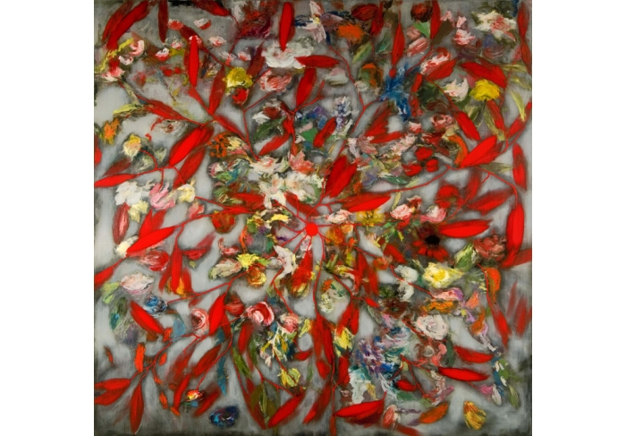 Ross Bleckner Meditation (Ruins Proclaim the Building/For H.M)