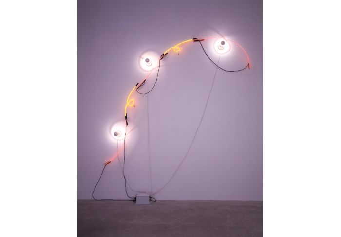Keith Sonnier Neon Wrapping Incandescent III