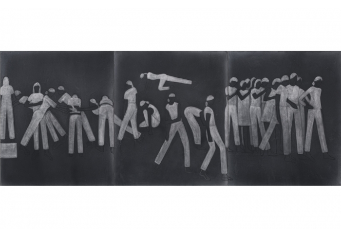Laurie Simmons Monotones (Figures and groups)