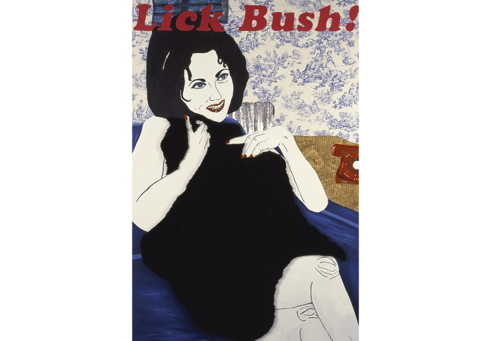 Lick Bush: from the Liz Taylor Series (Butterfield 8)