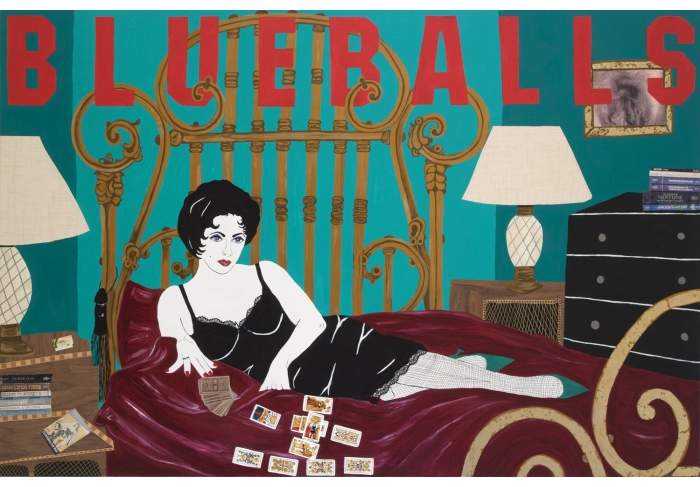 Blueballs: from the Liz Taylor Series (Cat on a Hot Tin Roof)