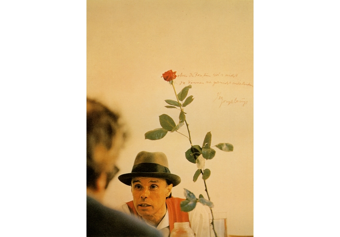 Joseph Beuys We Won't Do It without the Rose