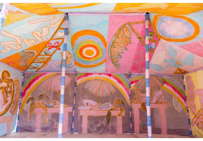 Francesco Clemente Angels' Tent